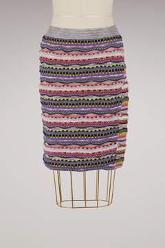 Carven Short cotton skirt