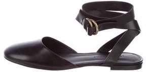 Jenni Kayne Leather Wrap-Around Flats