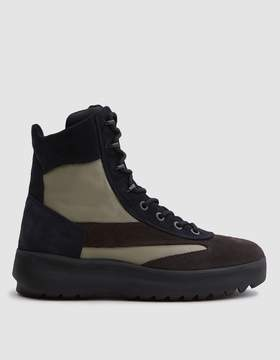 Yeezy Mens Suede Military Boot