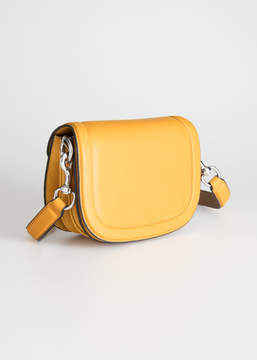 And other stories Leather Mini Saddle Bag