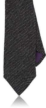 Ralph Lauren Purple Label Men's Birdseye-Knit Cashmere-Silk Necktie
