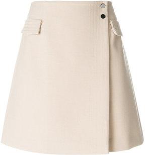 Armani Jeans A-line wrap skirt