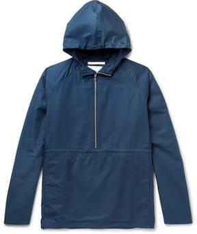 Norse Projects Frank Cotton Hooded Half-Zip Jacket
