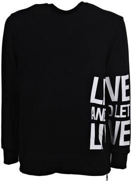 Neil Barrett Statement Print Sweatshirt