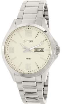 Citizen Men's BF2001-55A Silver Stainless-Steel Quartz Watch