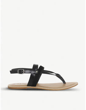 Office Salute toe-post sandals