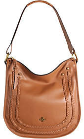 Oryany Pebble Leather Hobo w/ Braiding Detail-Madelyn
