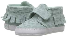Vans Kids Chukka V Moc Crib Harbor Grey) Girls Shoes