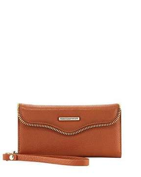 Rebecca Minkoff MAB Phone Case Charging Wristlet - BROWN - STYLE