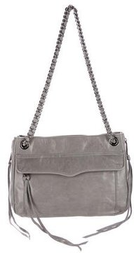 Rebecca Minkoff Leather Swing Bag - GREY - STYLE