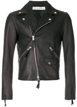 J.W.Anderson heart-patch biker jacket