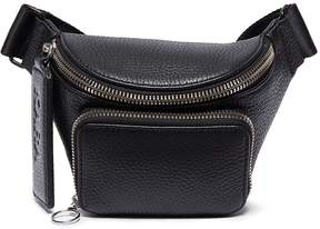 Kara Small pebbled leather bum bag