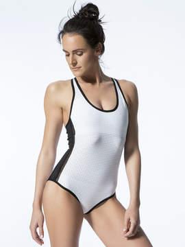 Blanc Noir Arabesque Bodysuit