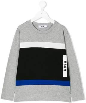 MSGM striped longsleeved T-shirt