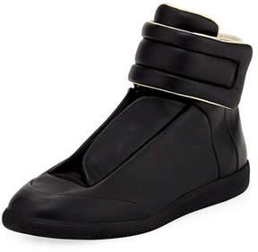 Maison Margiela Future Basic Leather High-Top Sneaker