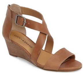 Lucky Brand Women's Jenley Wedge Sandal