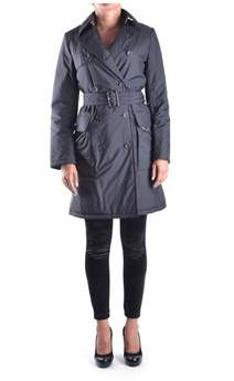 Aquascutum London Women's Black Polyamide Trench Coat.