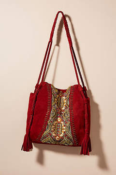 Anthropologie Sedona Striped Hobo Bag