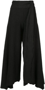 Baja East flared tailored trousers