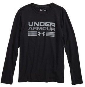 Under Armour Boy's Crossbar Logo Graphic T-Shirt
