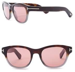 Tom Ford 51mm Retro Sunglasses