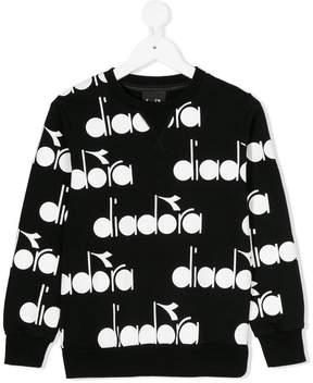 Diadora Junior printed sweatshirt