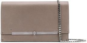 Casadei twist-lock clutch bag