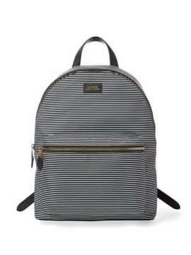 Lauren Ralph Lauren Striped Canvas Backpack