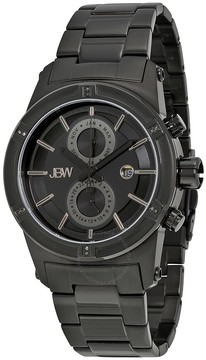 JBW Open Box - Strider Black Ion Steel Diamond Men's Watch