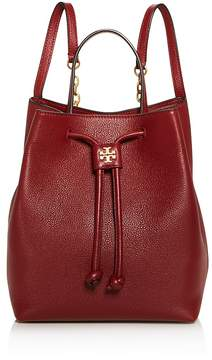 Tory Burch Georgia Pebbled Leather Backpack - 100% Exclusive - TUSCAN WINE/GOLD - STYLE