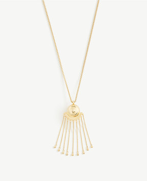 Ann Taylor Ball Fan Pendant