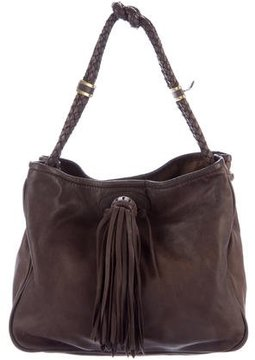 Mulberry Leather Handle Tote