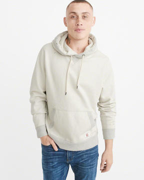 Abercrombie & Fitch Heavyweight Ripped Hoodie