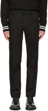 Calvin Klein Collection Black Exact Trousers