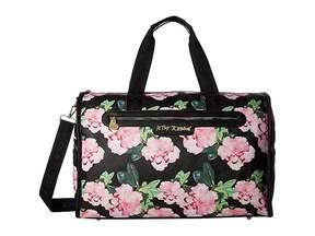 Betsey Johnson Barrel Weekender Duffel Bags