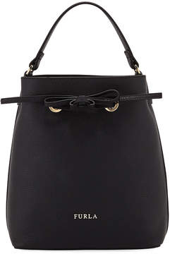 Furla Costanza Small Leather Bucket Bag