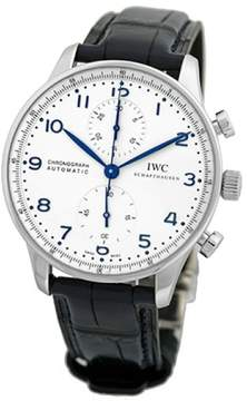 IWC Portuguese 3714-17 Stainless Steel Automatic 41mm Mens Watch
