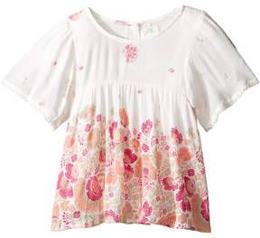 O Aster Woven Top (Toddler/Little Kids)