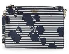 Kate Spade Striped Clarise Leather Crossbody