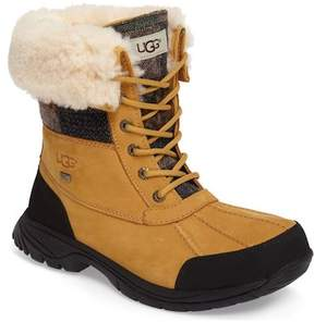 UGG Waterproof UGGpure(TM) Wool Lined Butte Patchwork Boot