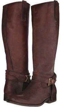 Frye Melissa Knotted Tall Cowboy Boots