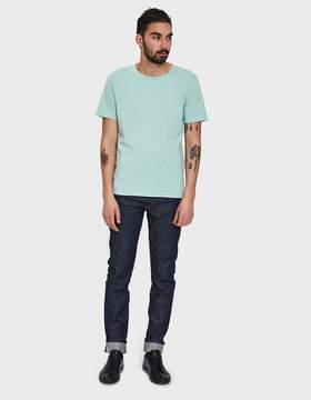 Maison Margiela Cotton Jersey 3-Pack T-Shirt in Electric Blue/Soap