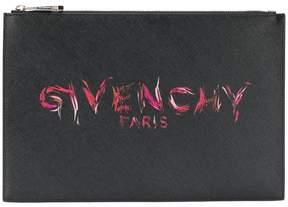 Givenchy printed logo clutch