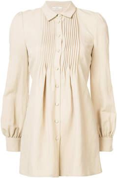 Co pintuck pleat detail blouse