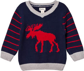 Hatley Navy Moose Jumper