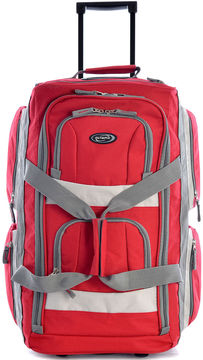 OLYMPIA Olympia 8 pocket 22 Carry On Rolling Upright Duffel Bag