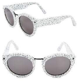 Elizabeth and James 51MM Round Sunglasses