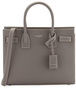 Saint Laurent Sac de Jour Baby Grain Leather Tote Bag