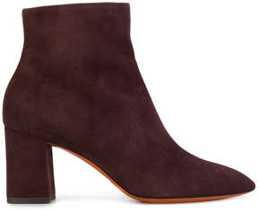 Santoni zipped fitted boots