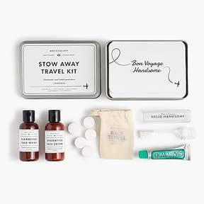 J.Crew Men's Society travel toiletry kit